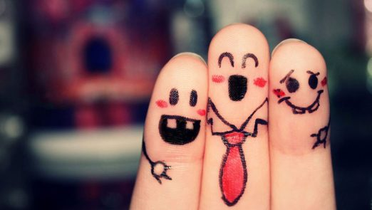 Funny-Finger-Faces-Wallpapers