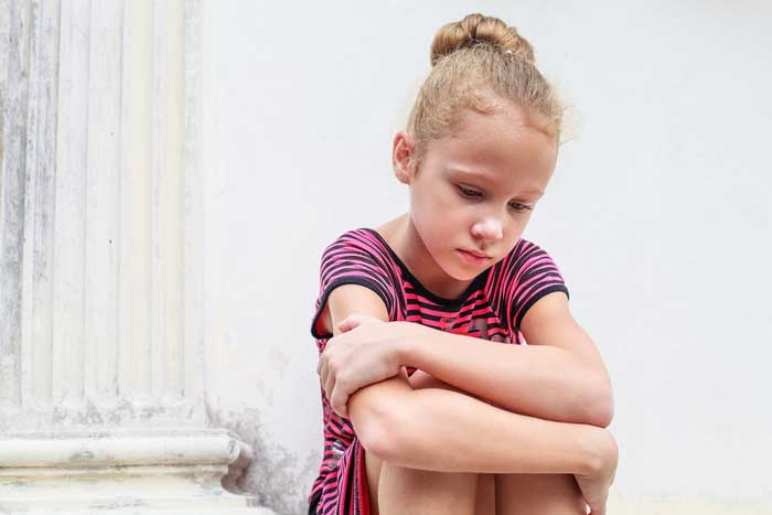 Take the passive reactions seriously in children