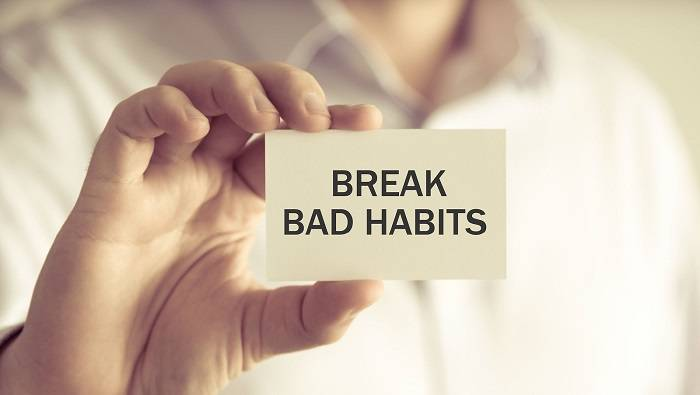 Teaching how to break bad habits by using NLP techniques