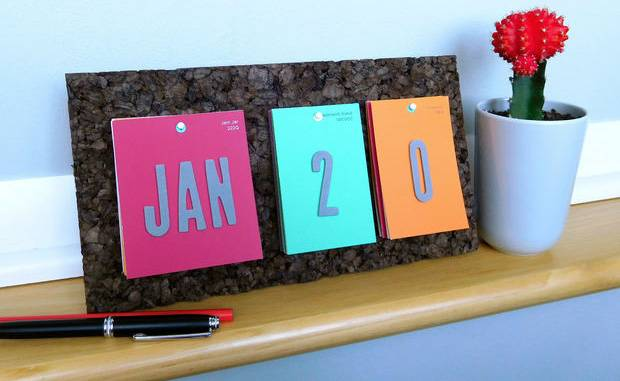 3- Making a special calendar for the child
