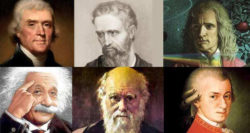what were the geniuses' common patterns in thinking?