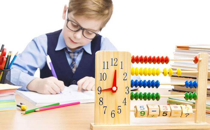 Understanding the concept of time by child