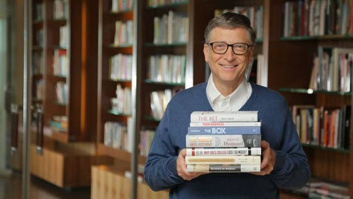 Favorite books of the rich people