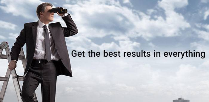Get the best results