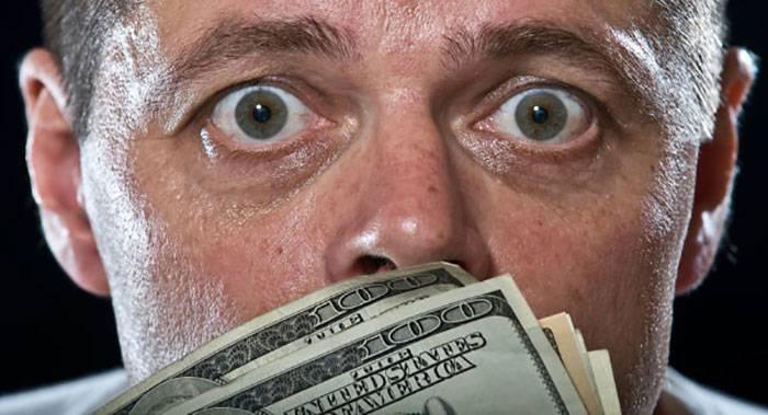 ترس از دست دادن پول