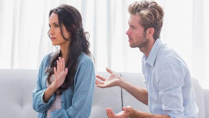 presence of your spouse is not attractive