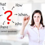 Asking the correct questions by NLP (first part)