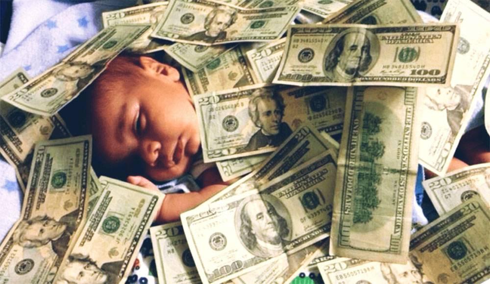 born in wealth