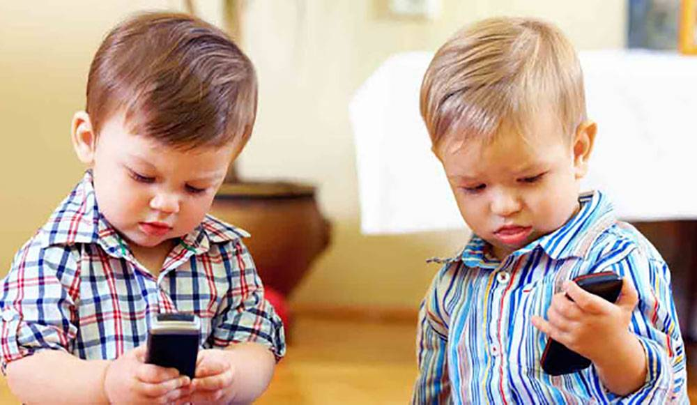 children should use mobile